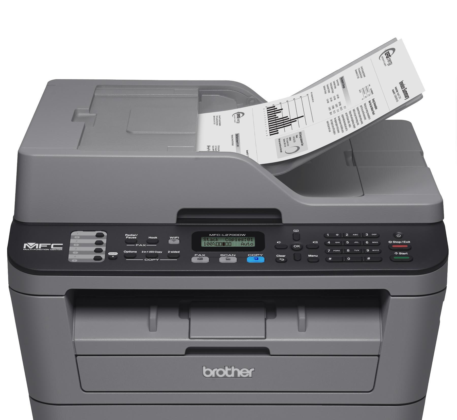 Impresora Brother MFC-L2700 DW